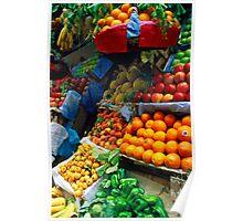 Corfu Colour Poster