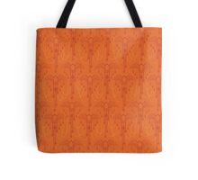 Orange Bats Tote Bag