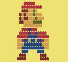8-bit brick mario  Baby Tee