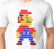 8-bit brick mario  Unisex T-Shirt