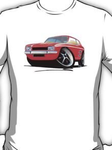 Ford Capri (Mk1) Red T-Shirt