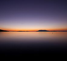 Early Morning Glow on the Peloponnese by Ciaran Sidwell