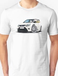 Ford Focus RS (Mk2) White T-Shirt