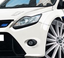 Ford Focus RS (Mk2) White Sticker