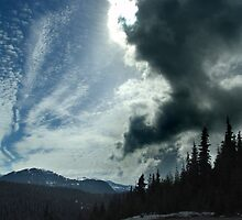 Winter Sky, Mount Washington by Jann Ashworth