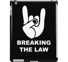 Heavy emblem fingers iPad Case/Skin