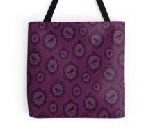 Purple Crow Cameo Tote Bag