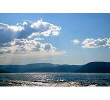 Gloom Loch Sunset Photographic Print