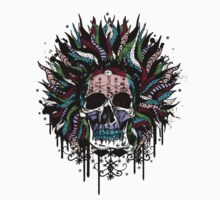 Magical Voodoo Skull Warrior by benfellowes