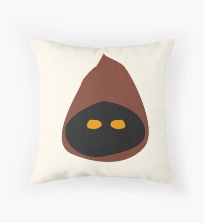Iconic Jawa Throw Pillow