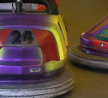 Bumper cars. by Jean-Luc Rollier