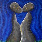 A Whisper From the Lips in Blue Dreams by Gunes Yilmaz