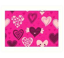 Love Card Art Print