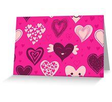 Love Card Greeting Card