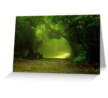 Monsoon Moods Greeting Card