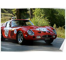Ferrari 250 GTO (Tuscany Rally)Italy Poster