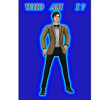 Who Am I? Photographic Print
