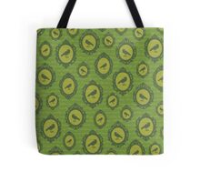 Green Crow Cameo Tote Bag