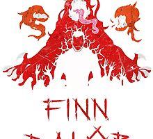 Finn Balor Demon Design by mvpmike13