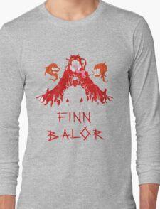 Finn Balor Demon Design Long Sleeve T-Shirt