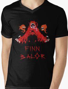 Finn Balor Demon Design Mens V-Neck T-Shirt