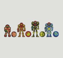 Samus, the cartridge years by cadaver138