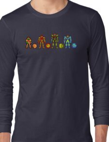 Samus, the cartridge years Long Sleeve T-Shirt