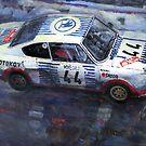 Skoda 130 RS #44 Monte Carlo 1977 by Yuriy Shevchuk