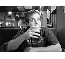Beer Thinker 2 Photographic Print