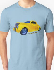 Yellow Ford Coupe T-Shirt T-Shirt