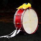 Bass Drum at Parade by Susan Savad