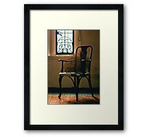 chair.. Framed Print