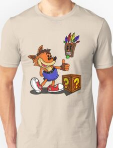 Retro Style Crash - Color Unisex T-Shirt