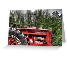 Indiana Tractor Greeting Card