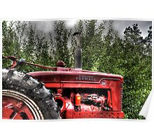 Indiana Tractor Poster