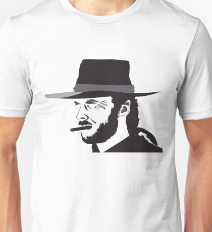 Clint Eastwood drawing Unisex T-Shirt