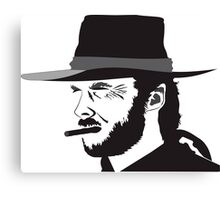 Clint Eastwood drawing Canvas Print