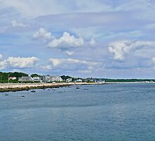 Summer Clouds Over Narragansett Beach  by Jack McCabe