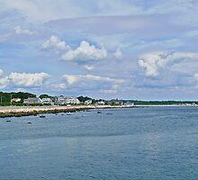 Summer Clouds Over Narragansett Beach  by Jack McCabe