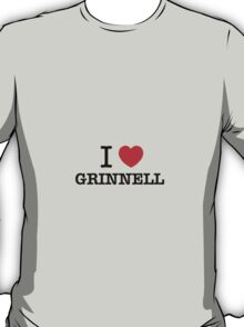 I Love GRINNELL T-Shirt