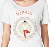 Tree Pose (Vrikshasana) Women's Relaxed Fit T-Shirt