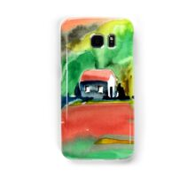 Psychedelic Cottages Samsung Galaxy Case/Skin