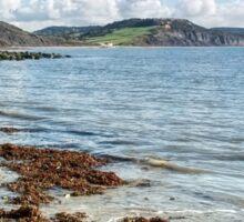 Lyme Regis Seascape 5 - October Sticker