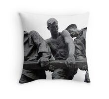 St Petersburg - Siege of Leningrad Memorial Throw Pillow
