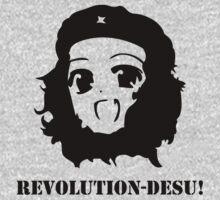 Manga Anime Girl Che Guevara by jokestore