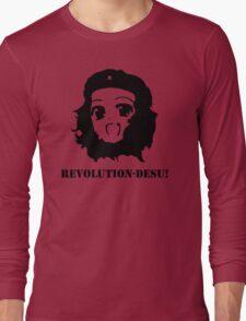 Manga Anime Girl Che Guevara Long Sleeve T-Shirt