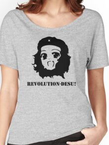 Manga Anime Girl Che Guevara Women's Relaxed Fit T-Shirt