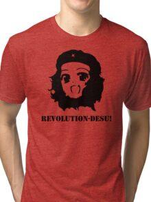 Manga Anime Girl Che Guevara Tri-blend T-Shirt
