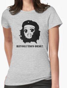 Manga Anime Girl Che Guevara Womens Fitted T-Shirt