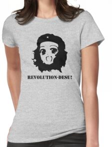 Manga Anime Girl Che Guevara Womens Fitted T-Shirt
